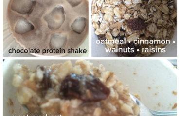 Chocolate Protein Oatmeal aka Proats