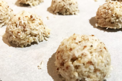 Coconut Almond Protein Macaroons