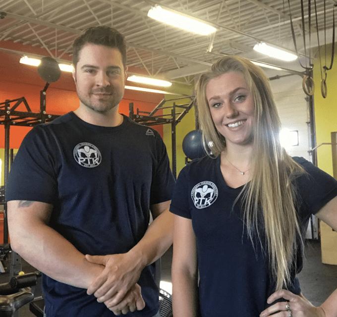 PTK Team - Trevor & Sarah