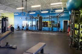 Squat Racks, Heavy Bag, Rings, and Battle Rope