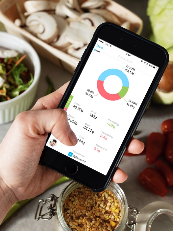Nutrition Coaching with mobile app