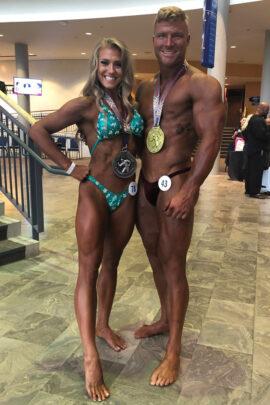 Sarah physique competition